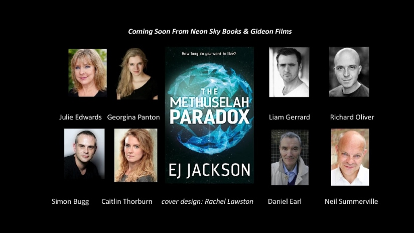 It's Live….  How you can help me to make a video trailer for 'The Methuselah Paradox' !