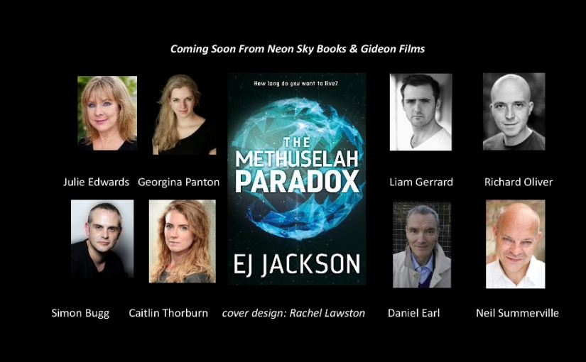 It's Live….  How you can help me to make a video trailer for 'The Methuselah Paradox'!