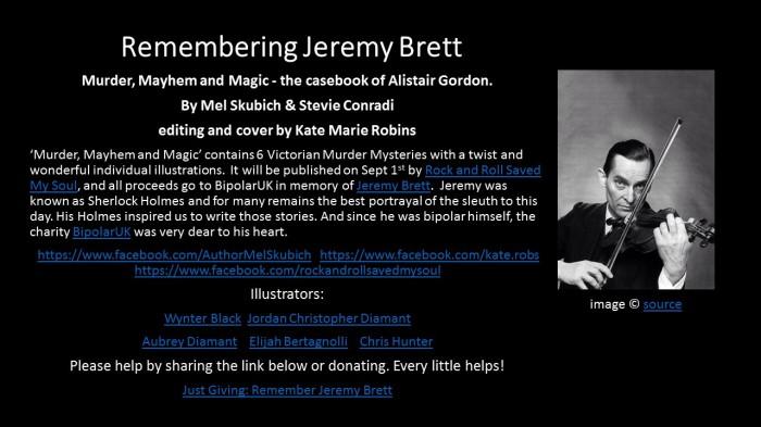 Remembering Jeremy Brett