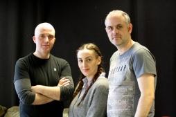 L-R: Richard Oliver , Amelia Sefton & Simon Bugg