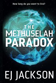 The Methuselah Paradox by EJ Jackson, cover by Rachel Lawston