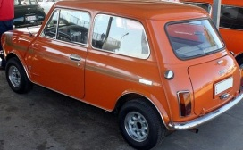 AUSTIN MINI CLUBMAN ORANGE